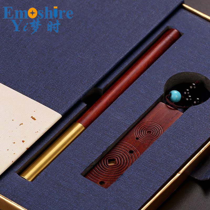 Wooden Gift Set Handicrafts Manufacturers Wholesale Creative Custom USB Flash Drives and Ballpoint Pen Roller Ball Pen P393 wholesale sales promotion ballpoint pen jinhao 1683 gold roller ball pen steel metal dragon gift silver send a refill yy12