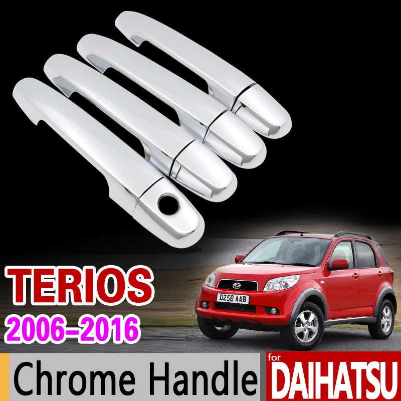 Voor Daihatsu Terios Bego 2006-2016 Chrome Deurgreep Cover voor Toyota Rush Eco Wilde Perodua Nautica J200 F700 auto Styling