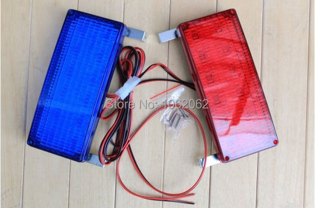 12V High Power Flashing Lights Security Booth Warning Lights Strobe Warning Light For Car Motorcycle