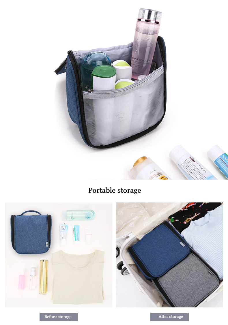 US $9.2 41% OFF|Travelsky New Arrival Lady's Large Travel Makeup Bag Woman Toilet Hanging Bags Make Up Kit Waterproof Travel Bag Free Shipping in