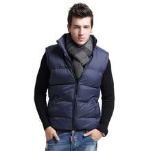 Vest Male New Mens Jacket Sleeveless veste homme Winter Warm Casual Coats Cotton-Padded Vest Jacket men Thickening Waistcoat