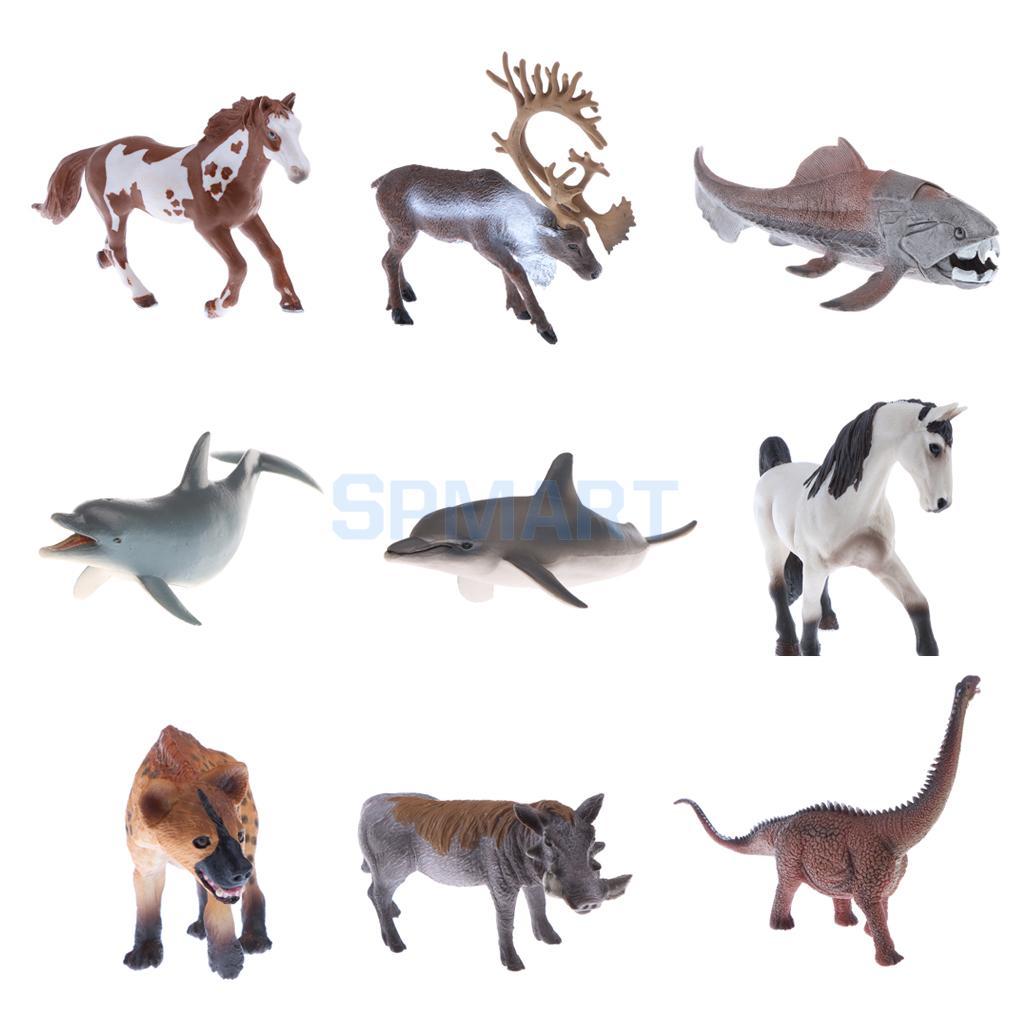Toys & Games Animals & Dinosaurs Realistic Simulation Wildlife Farm Animal Model Figure Figurine Toys Decoration