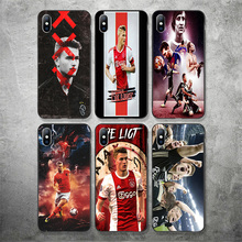 Yinuoda Ajax Team Phone Case Matthijs de Ligt For iphone Shell DIY Picture Soft TPU Cover X XR XS MAX 7 8 7plus 6 6S 5S SE
