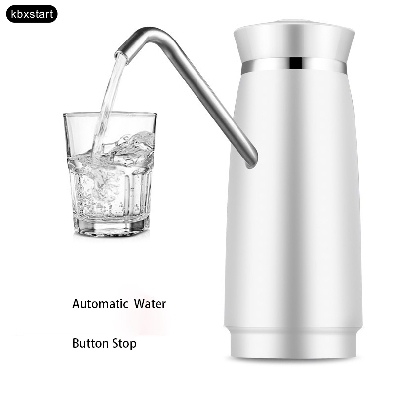 Mini Automatic Electric Portable Water Pump Dispenser Rechargable Energy Drink Dispenser Drinking Galon Bottle Faucet Switch