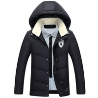 Clothes Men Winter Parka 2018 New Brand Coat Men Winter Jacket Men Plus Size Thick 95% White Duck Down Warm Men Coat Parkas