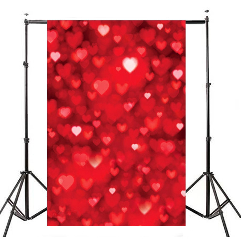5X7 FT waterproof Valentine s day roses love Photography Backdrop Studio Photo Props Photographic Background cloth