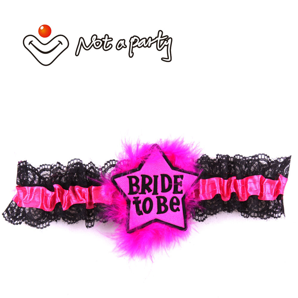 ᐃHot pink team bride to be garter 50% off for 3pcs hen night ...