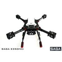 SAGA E350PRO Carbon Fiber Frame Kit Folding Four axis aircraft frame with X4X8 open source DIY Drone Kit RC drone model
