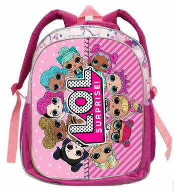 2bdb0eb88354 LOL Dolls Baby Backpack Animal Anime Cute Travel School Bags For Toddler  Boys Girls Kids Children ...
