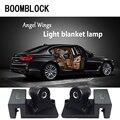 LED Ghost Shadow лазерный проектор лампы для BMW X5 E53 VW Golf 4 7 5 Tiguan Kia Rio Sportage Fiat 500 поворотные согревающие аксессуары