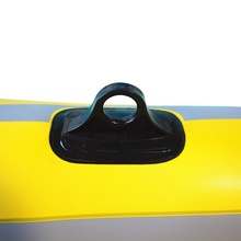 Rubber boat Inflatable boat PVC Black Comfort Grips inflatable rubber accessories 2/3/4 person kayak marine water island fishing
