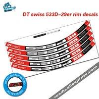 DT 533D 29 cali górskie koło rowerowe naklejki obręcz rowerowa naklejki naklejki w Naklejki rowerowe od Sport i rozrywka na