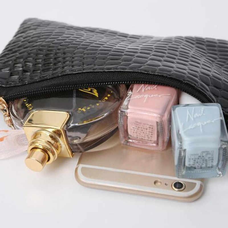 Las mujeres bolsa de cuero de la Pu de patrón de cocodrilo bolsos, bolsas de mensajero para mujeres, bolso mujer bolso de hombro pequeño embrague marca