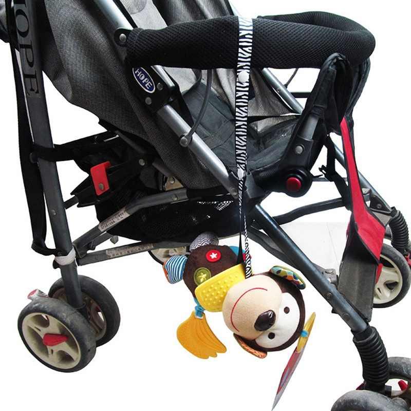 Cadena de chupete para cochecito de bebé niños juguetes mordedor chupete Anti-caída colgar cuerda soporte para pezones correa de sujeción chupete Clips Correa