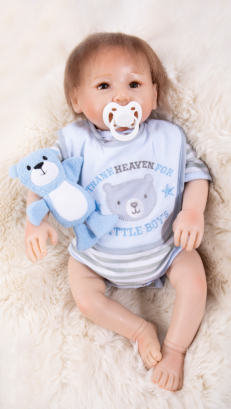 Bebes reborn 45cm cheap silicone reborn baby dolls for sale lifelike real baby alive boy dolls toys for child giftBebes reborn 45cm cheap silicone reborn baby dolls for sale lifelike real baby alive boy dolls toys for child gift