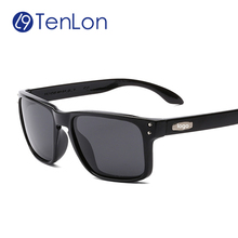 Бренд поляризованных солнцезащитных очков женщины высокое качество цветной фильм оригинальные очки с футляром óculos-де-сол мужской старинные очки