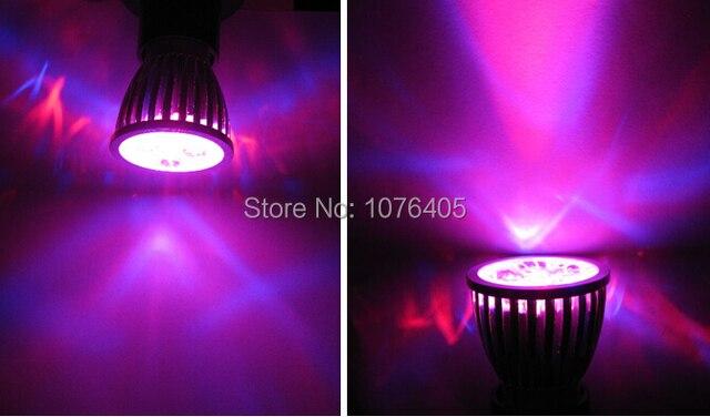 5pcs/lot 5W Full spectrum LED Grow lights E27 LED Grow lamp bulb for Flower plant Hydroponics system AC 85V-265V grow box