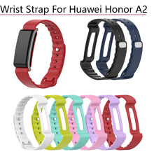 Colorful Silicone Bracelet Band Wrist Strap for Huawei Honor A2 Smart Watch Wristband watchband Replacement