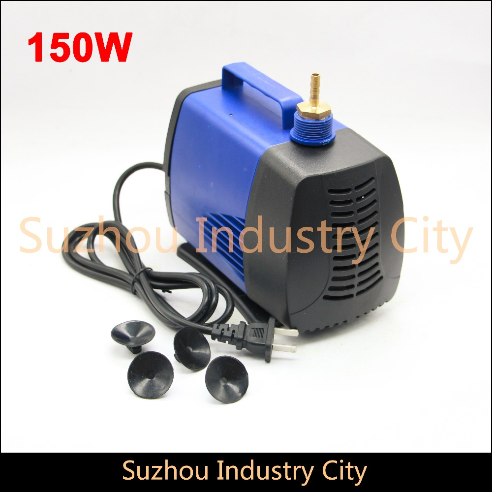 все цены на 150w 220V water pump Brushless Motor max head 5m max flow 5000L/H Multi-function submersible water pump