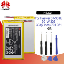 Original Battery For HUAWEI HB3G1 4000mAh For Huawei MediaPad 7 Lite S7-301U S7-301W S7-302 303 701 Replacement Tablet Battery цена и фото