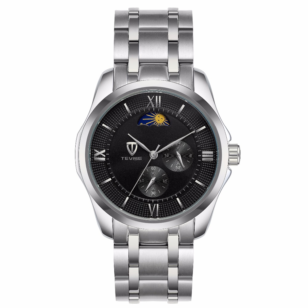лучшая цена TEVISE 2018 Brand Men Mechanical Watch Automatic Fashione luxury Male Reloj Masculino