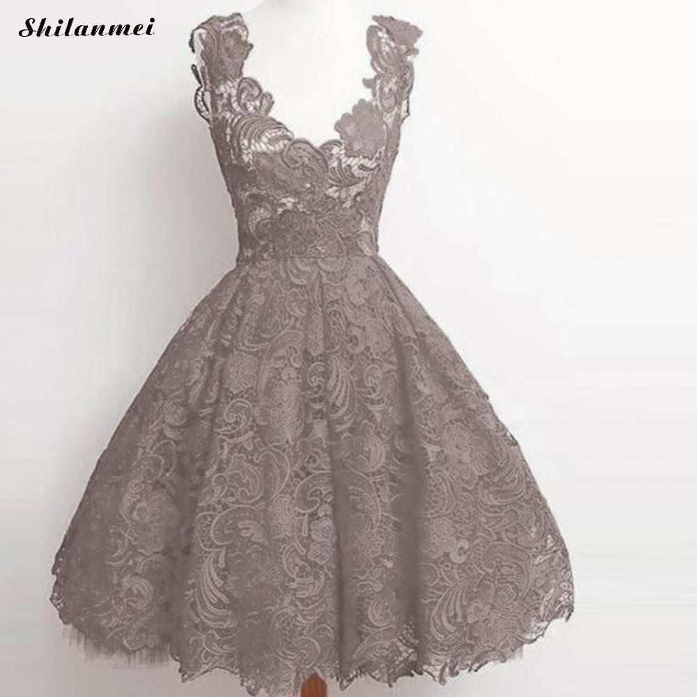 frauen sexy sommer spitze prinzessin kleid blumen grau grün rot sleeveless  elegante vintage party kleid vestido robe 2017 sommerkleid