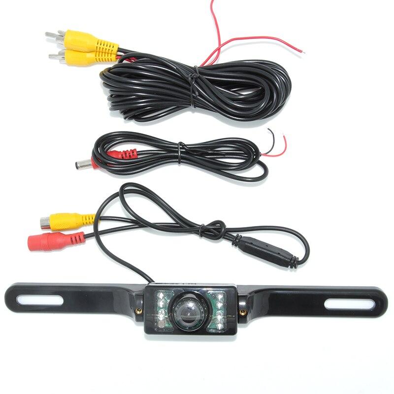 Ունիվերսալ 8 LED ավտոկայանատեղի HD CCD - Ավտոմեքենաների էլեկտրոնիկա - Լուսանկար 2