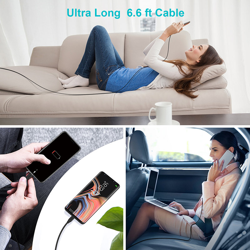 Image 5 - CHOETECH MFi PD Cable USB 2M C to Lightning Cable Fast Charging Syncing Cord Compatible for iPhone X/XS/XR/XS MAX/8/8 Plus iPad-in Mobile Phone Cables from Cellphones & Telecommunications