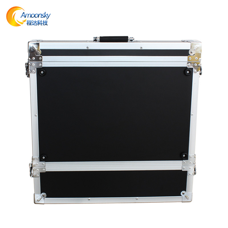 Lower Price with Ams-fc01 Flight Case 1.5u For Stage Rental Led P3 Screen Wall Video Processor Reputation First Display Screen