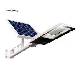 10W20W50W100W zewnętrzne oświetlenie słoneczne jasne wodoodporne duże panele słoneczne pilot słoneczne światła uliczne w Oświetlenie uliczne od Lampy i oświetlenie na