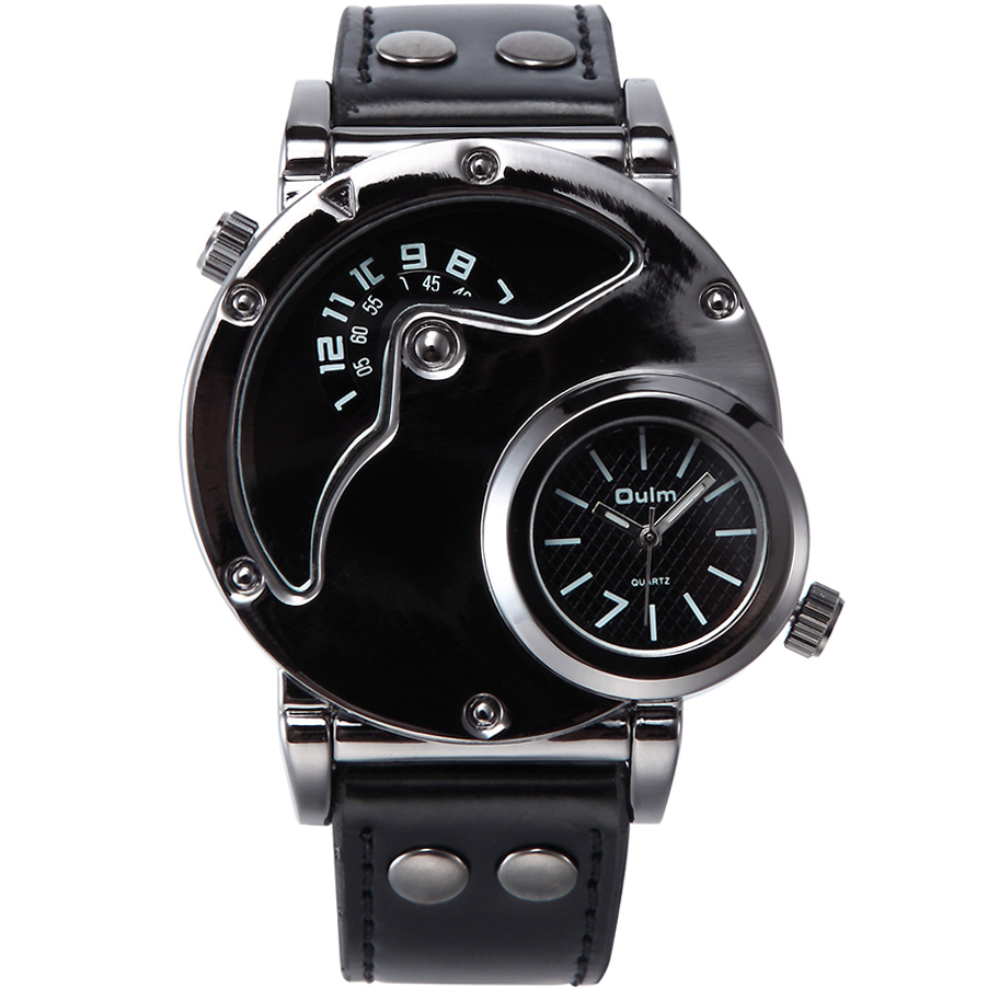 popular vintage mens watches buy cheap vintage mens watches lots sports vintage mens watches dual time zone punk quartz men watch luxury brand casual military leather