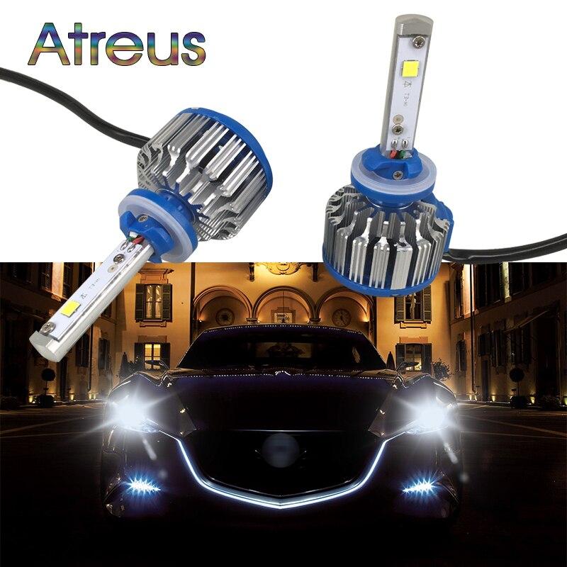 H3 XENON  8000K 7.5W HIGH POWER LED Car Fog Bulbs VAUXHALL 1
