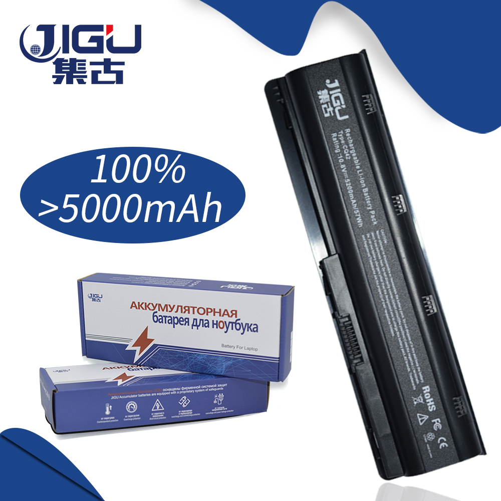JIGU 5200MAH Laptop Battery For HP Pavilion G6-2214 SR G6 Dv6 Mu06 586006-321 586006-361 HSTNN-LBOW 586006-321 586006-361 скульптура из дерева дед мороз 01