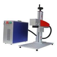 Ezcad와 휴대용 미니 10 w 20 w 30 w 50 w 금속 섬유 레이저 마킹 머신