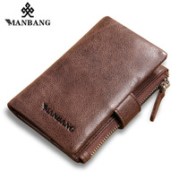 Manbang 2017 New Leather Key Wallet Men Women First Layer Nature Cowskin Key Case MBYSB1143
