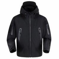 Upgraded Shark Skin High Quality Tactical Jacket Waterproof Windbreaker Men S Raincoat Military Clothing Windcheater Army