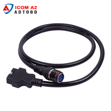 2017 Best Quality ICOM A2 OBD Main Cable 16pin to 19pin Cable for BMW ICOM A2 with Free Shipping