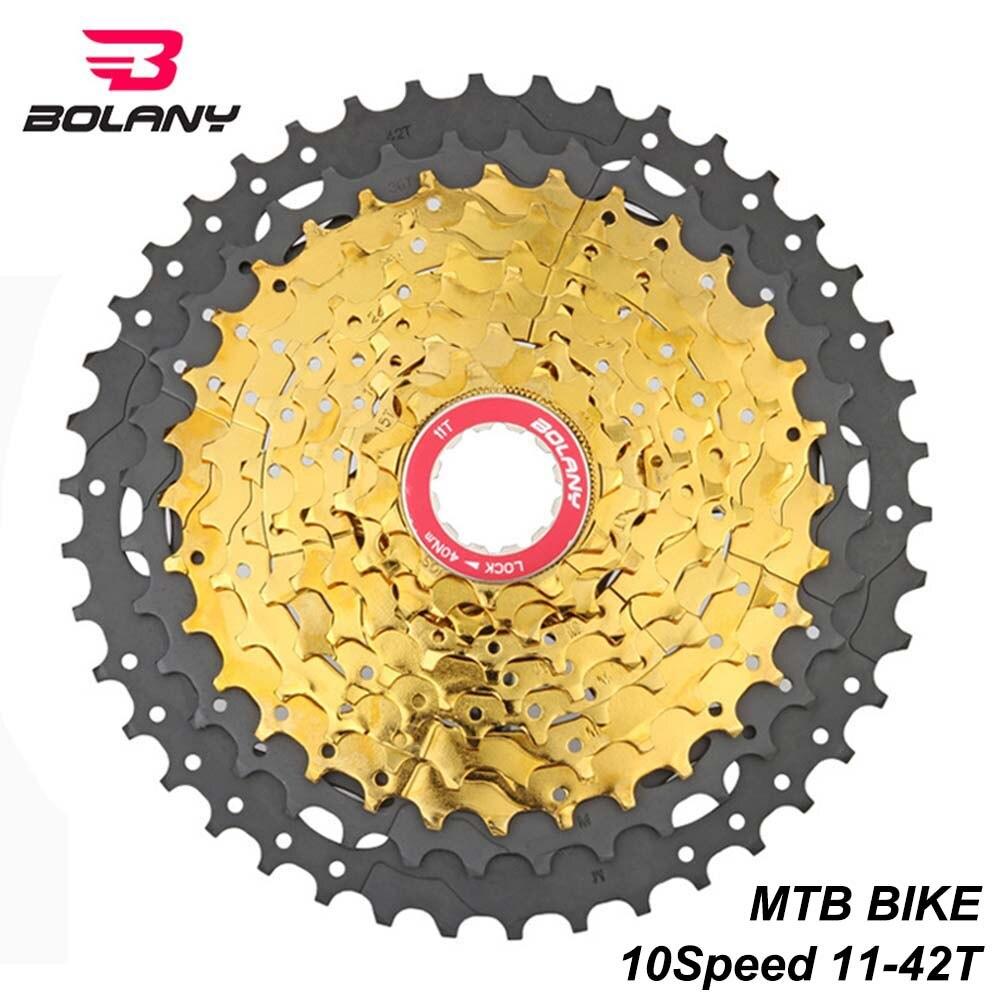10 Speed Freewheel Mountain Bicycle Bike MTB 11-42T Cassette Flywheel Sprockets