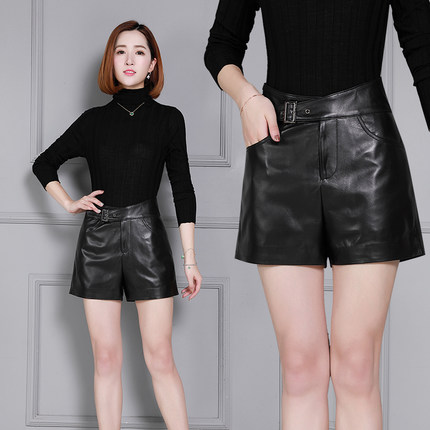 2019 Women High Waist New Slim Shorts K22