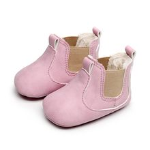 Newborn Baby Boys Girls Boots Shoes Winter Warm Plus Velvet Prewalker Boots Children Infant Martin Shoes First Walkers Boots #IS(China)