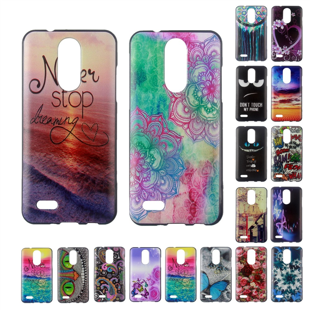 For LG K4 2017 Case Silicon Soft TPU Printed Cover Case