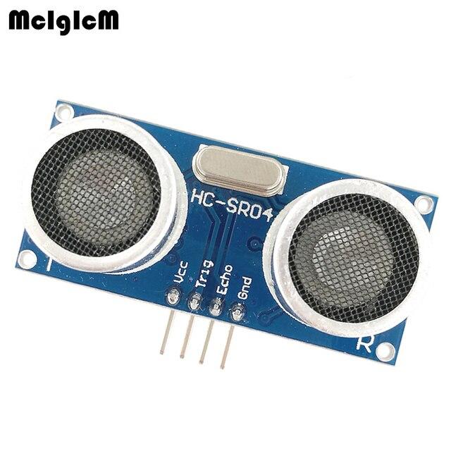 MCIGICM โมดูลอัลตราโซนิก HC SR04 ระยะทางวัด Transducer เซนเซอร์ HC SR04 HCSR04 ultrasonic sensor