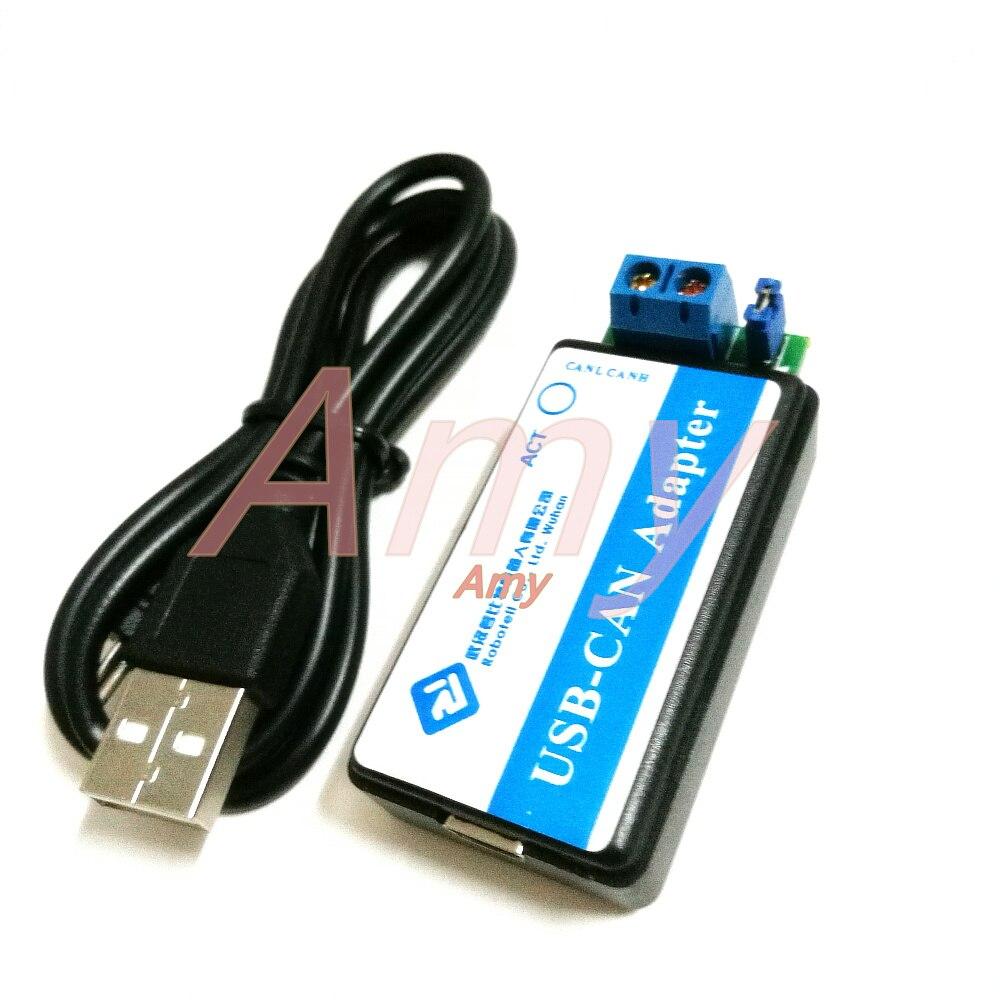 USB zu KÖNNEN USB-CAN USB2CAN debugger adapter unterstützt sekundäre entwicklung! ZLG