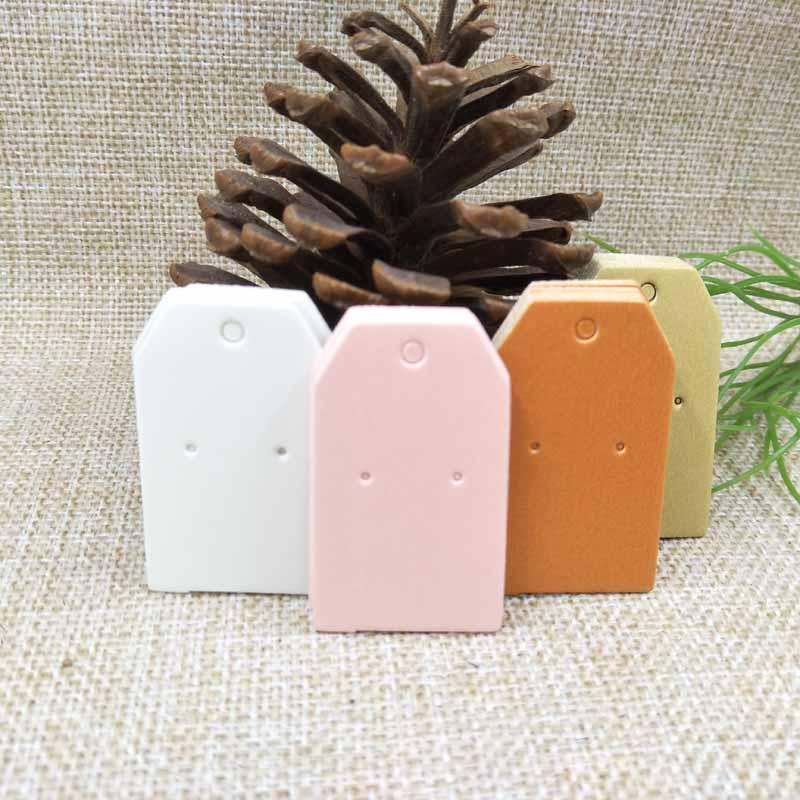 5*3cm White/orange/green/pink Diy Blank Paper Cardboard