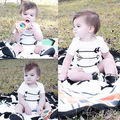 Bodysuit 2016 Newborn Baby Boys Girls Clothes 3-18M Infant Summer Short Sleeve Body Onesies Bebes Bodysuits