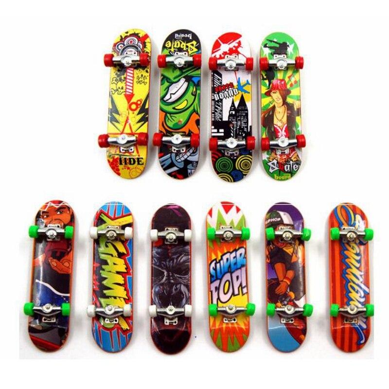 1Pcs Aluminum Mini Finger Skateboard Kids Fingerboard Best