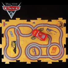 Disney Pixar Cars 3 New Lightening McQueen Jackson Electric Track Car 2018 Birthday Gifts Toys With 6 DIY Tracks for Kids Boys