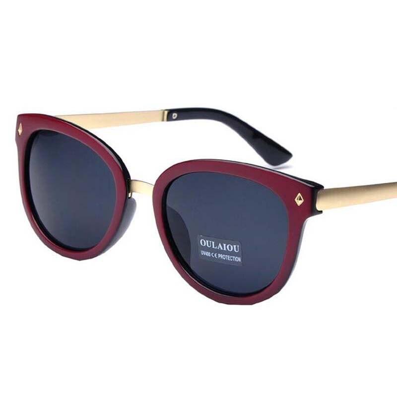 Φ_ΦRemaches hombres marca diseñador Gafas de sol mujeres grandes ...