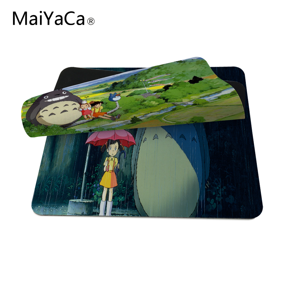 Sporting Mouse Pad New Anti-slip Pc My Neighbour Totoro Anime Umbrellas Silicon Mouse Pad Mat Mice Pad Anime Gaming Mousepad Best Gift Mouse Pads