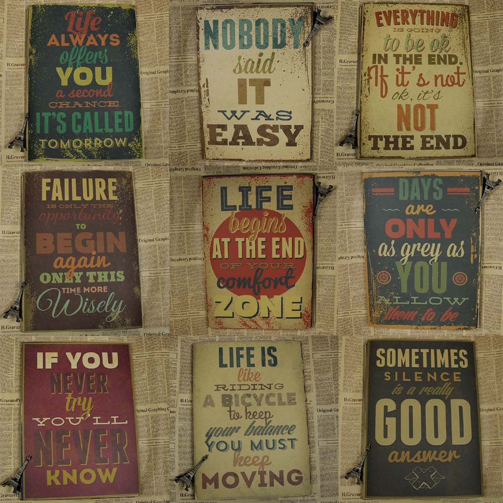 Motivational Home Wall Decoration